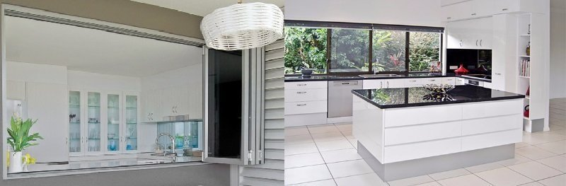 A kitchen makeover performed on the Sunshine Coast