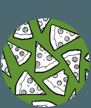 Giro pizza!