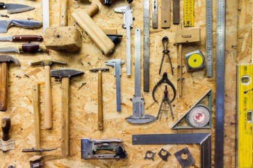 strumenti per la lavorazione del legno