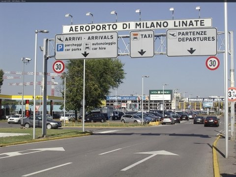 Milan Linate Airport with NCC TAXI MILANO