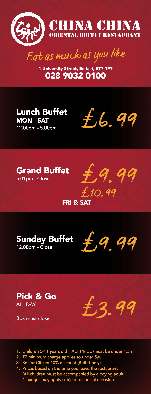 Oriental Buffet List