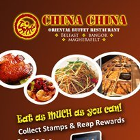 All you can eat Chinese buffet - Antrim - China China - reward cards 1