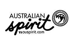 Artisan embroidery Australian Spirit logo