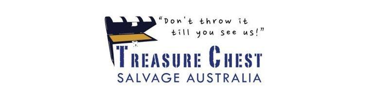 junk removal treasure chest logo