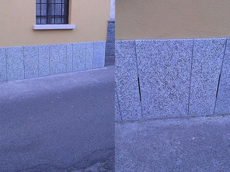 complementi di muro in marmo