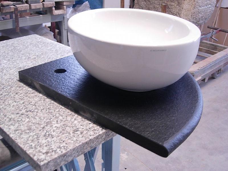 top per bagni in granito