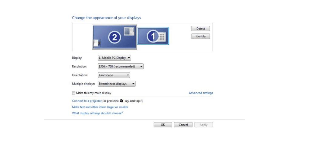 ClickShare Update Erweiterter Monitor