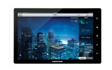 Grafik eines Crestron Touchpanels