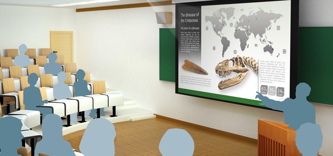 Foto von Konferenzraumtechnik Projektor