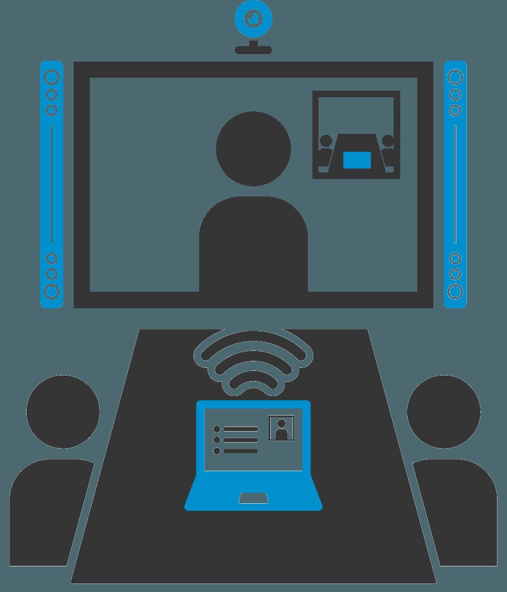 Icon zum Thema Konferenzraumtechnik