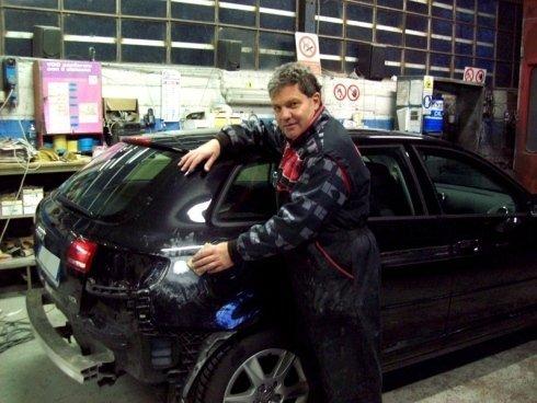 lucidatura esterna riparazione ammaccature, riparazione ammaccature da parcheggio, riparazione auto