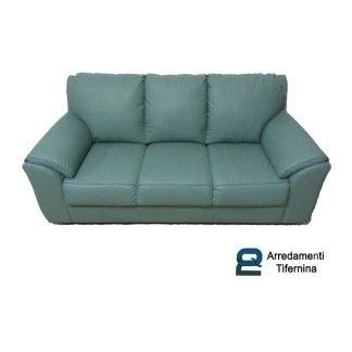 divano tre posti in ecopelle