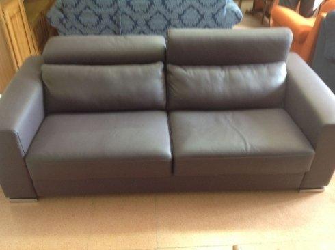 divano pelle biposto nicoletti california 2,15 metri: 1800 euro