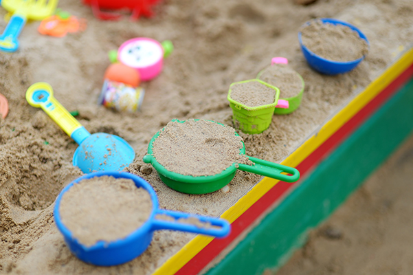 Sandpit at Maytime Montessori Nursery