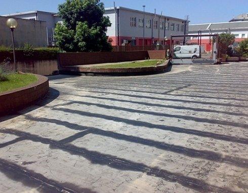 impermeabilizzazione di parcheggi