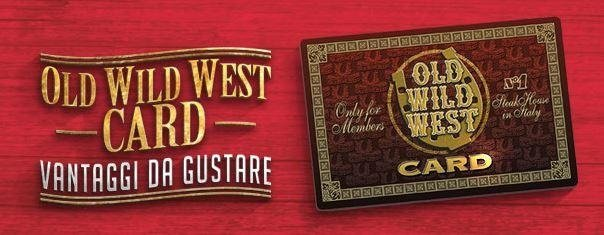 OLD WILD WEST REGISTRAZIONE