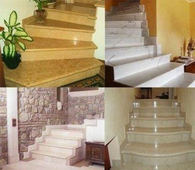 scale in pietra, scale in granito, opere marmoree