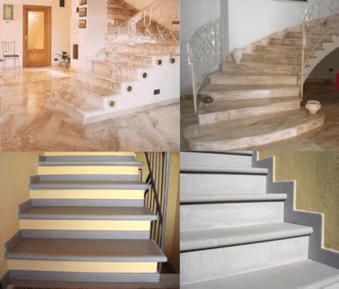Scale in marmo livorno ricci marmi graniti snc - Marmo per scale ...