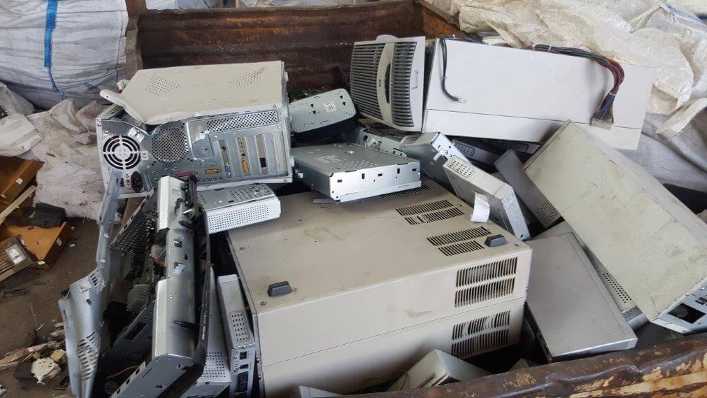 apparecchiature elettriche rotte