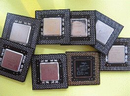Processori in PVC nero