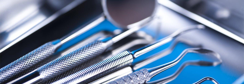 attrezzature dentali colore luminoso