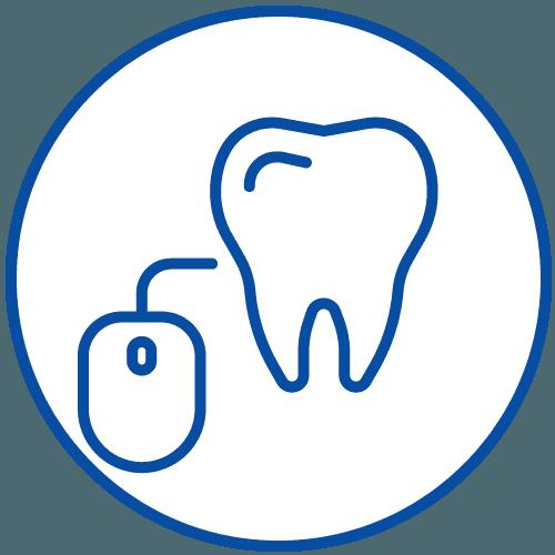 icona dente e mouse
