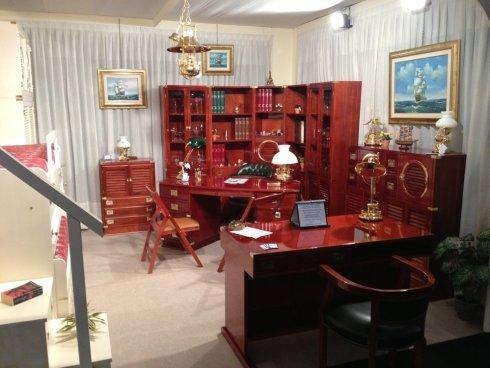 studio stile marina, mobili in stile marina, arredamento per la casa