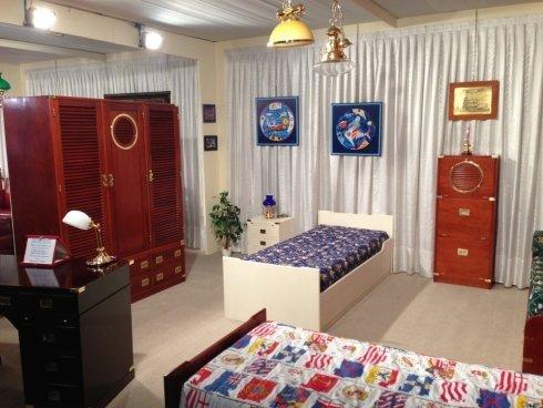 letto stile marina, cameretta in stile marina, arredamento per la casa, mobili
