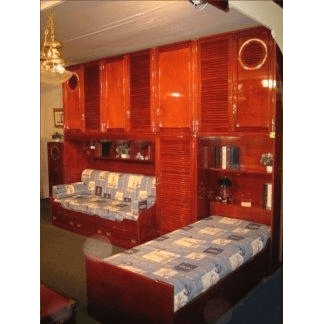 arredamento navale, mobili in stile marina, camerette in stile marina, arredo per la casa