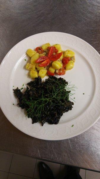 gnocchetti con spinaci