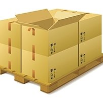scatole in cartone