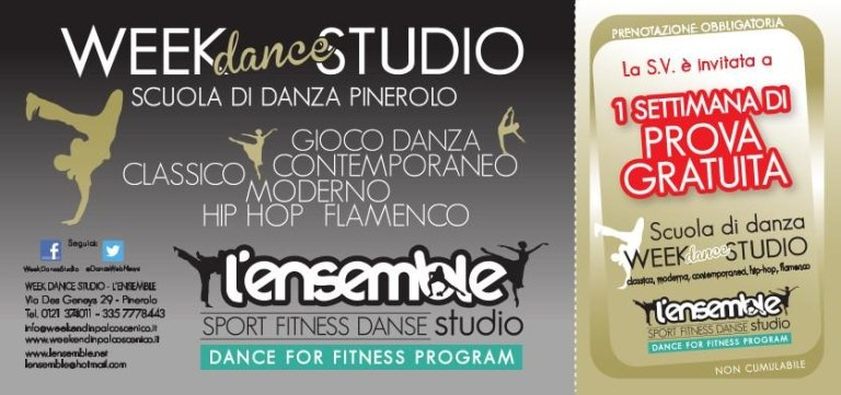 WEEK DANCE STUDIO COUPON