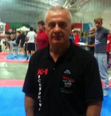 Maestro Libero Ruggiero Pluri Campione Europeo Maestro 6° Dan