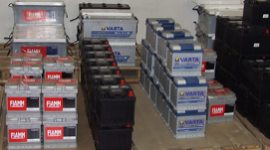 batterie per autoveicoli
