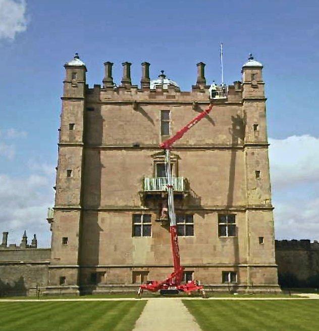 Bolsover Castle Masonry Restoration
