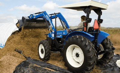 Louderback Implements New Holland Workmaster 65