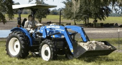 New Holland Workmaster 55 - Click for Brochure
