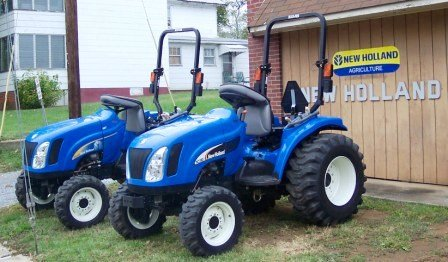 New Holland Compact-Tractors Commercial Mowers