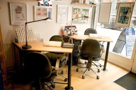 Beauty consultation area