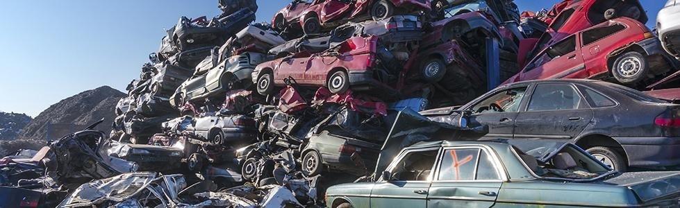 demolizioni di veicoli tradizionali