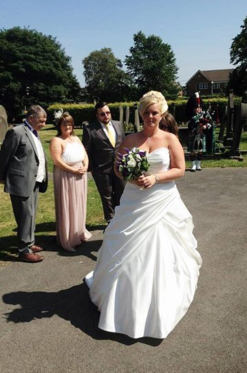 wedding bagpipe