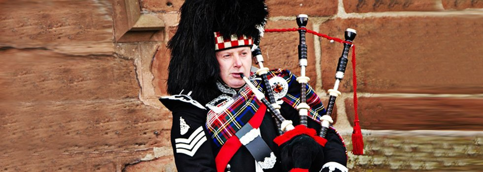 bagpipe artist for hire