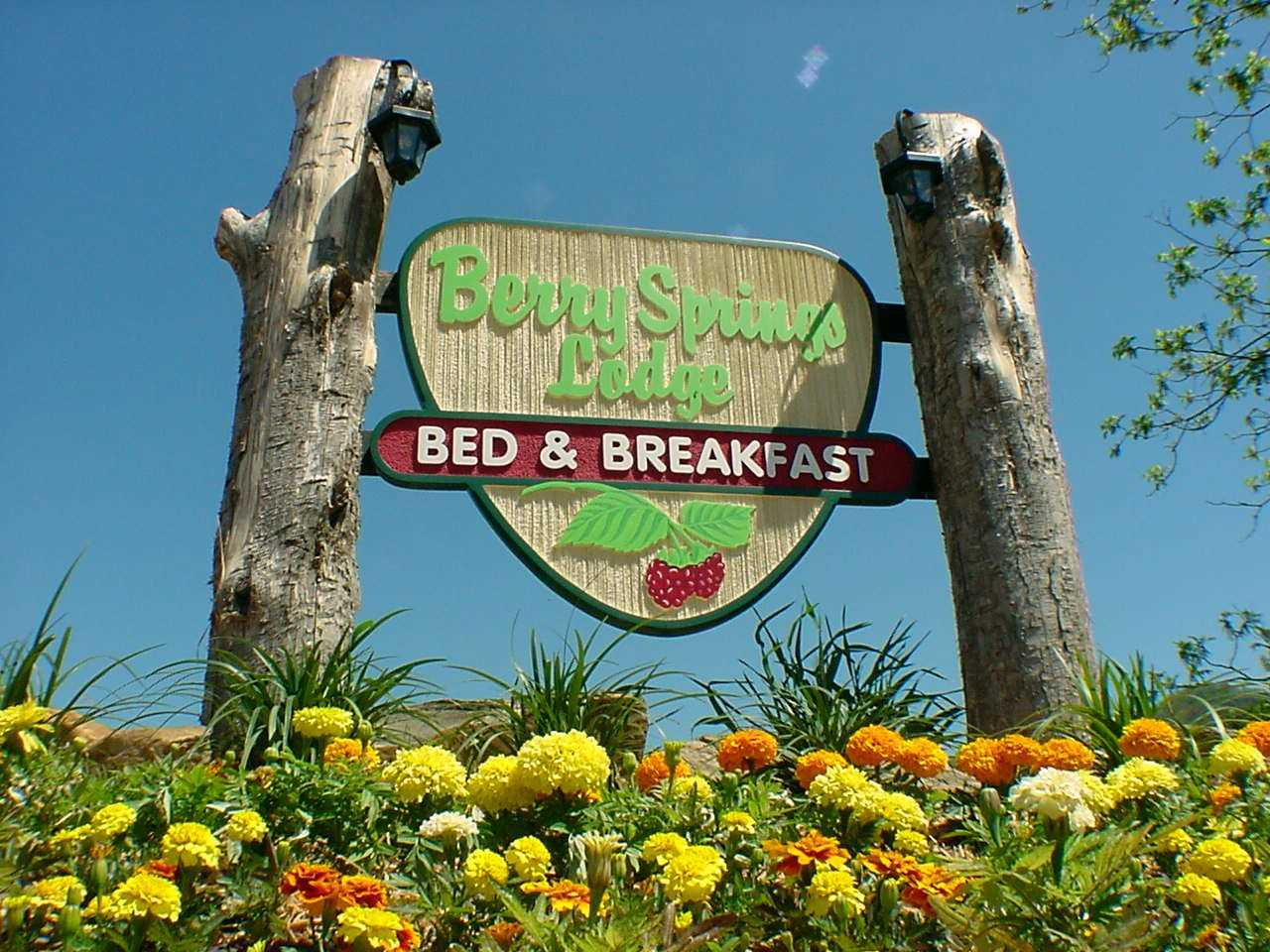 Bed and Breakfast Entance Sign