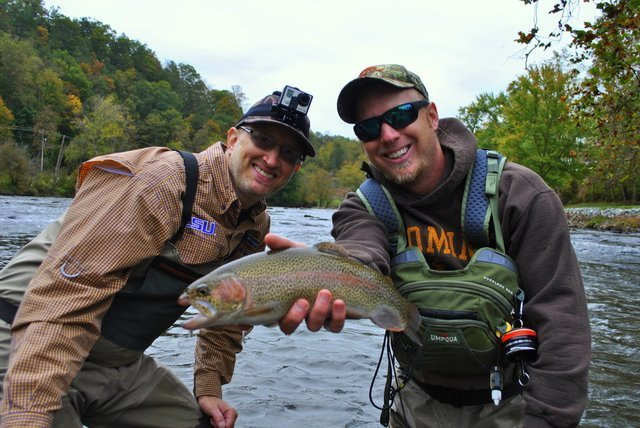 Trout Fishing in The great Smoky Mountain National Park