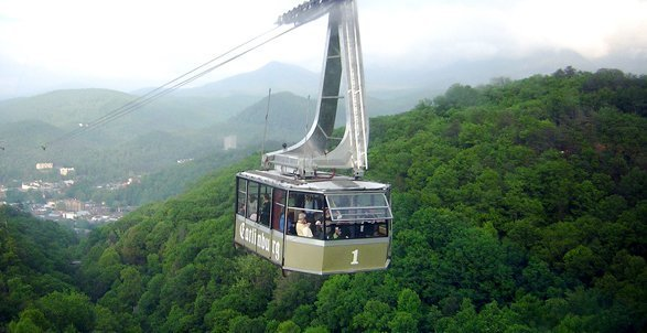 Ober Gatlinburg Tram Ride