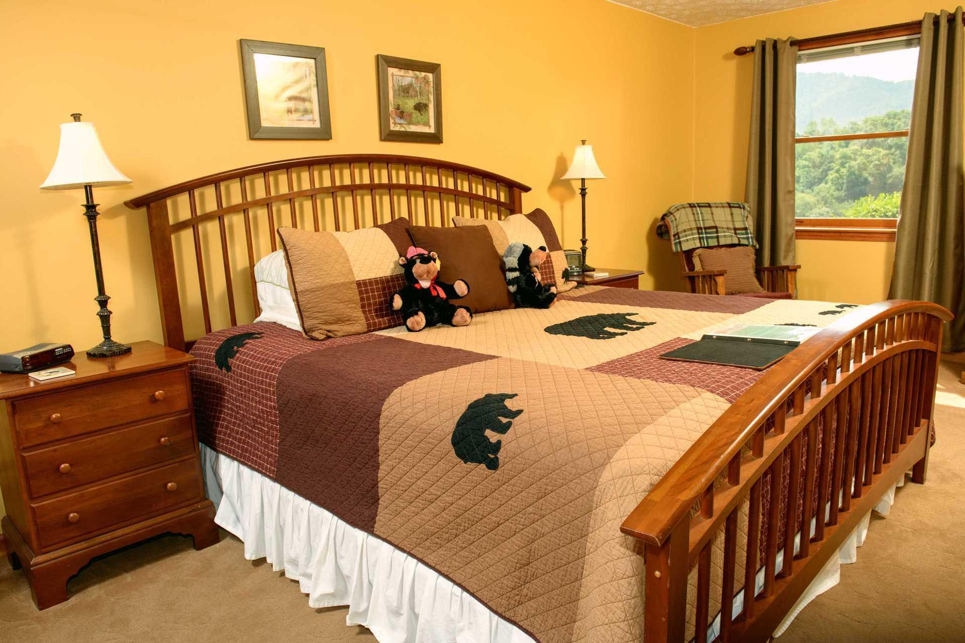 Hideaway Springs  Mountain View Suite