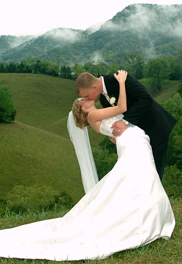 Romantic Gatlinburg Wedding Elopement