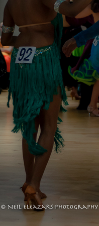 rubies dance centre turquoise costume