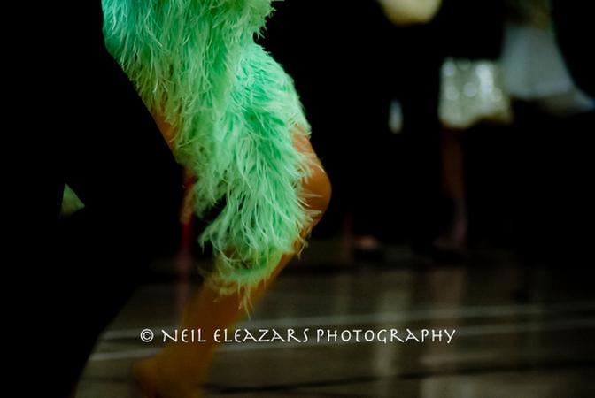 rubies dance centre dancers bright green costume