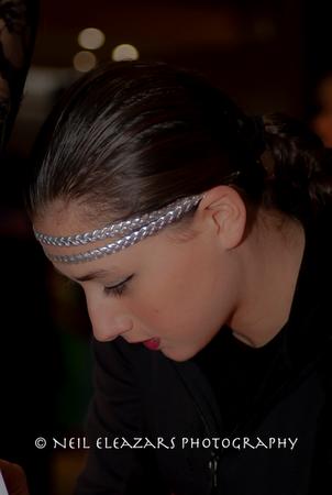 rubies dance centre dancer headpiece detail
